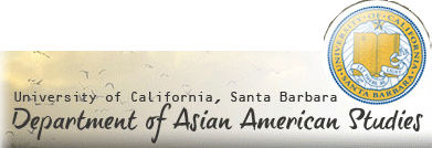 Department of Asian American Studies - UC Santa Barbara